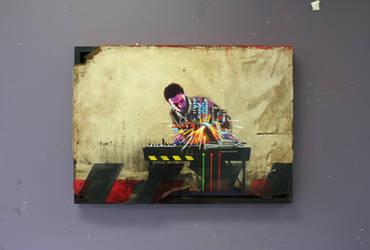 'Traffic Sentinel' by KIRAN-X-MECHANIZED