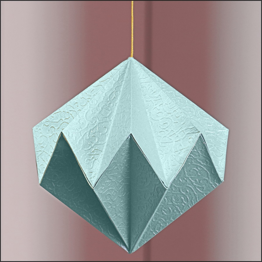 origami diamond by bluetf on deviantart