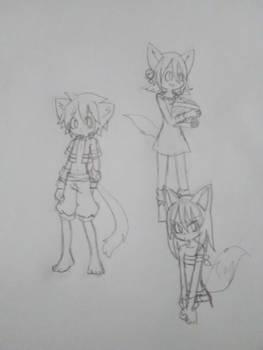 AU sketches