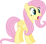 Fluttershy surprised