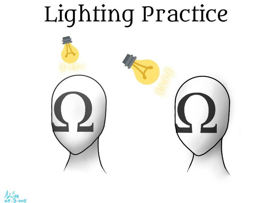 Lighting Practice  by KayasaYT