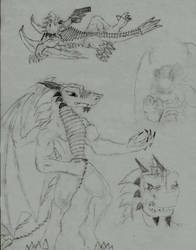 Dracold Poses by Dracold