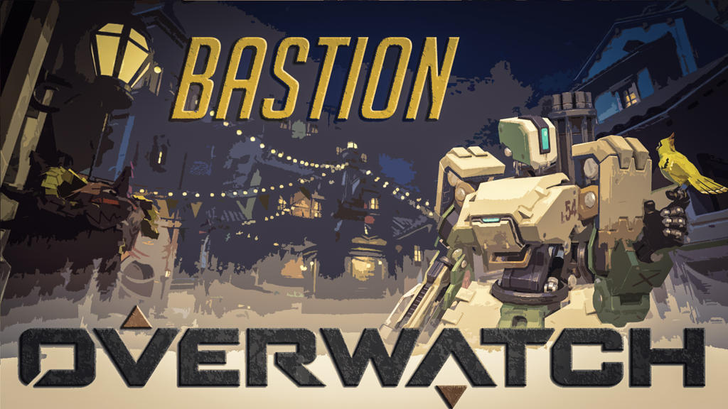 Overwatch bastion wallpaper by pandorawill on deviantart - Bastion wallpaper ...
