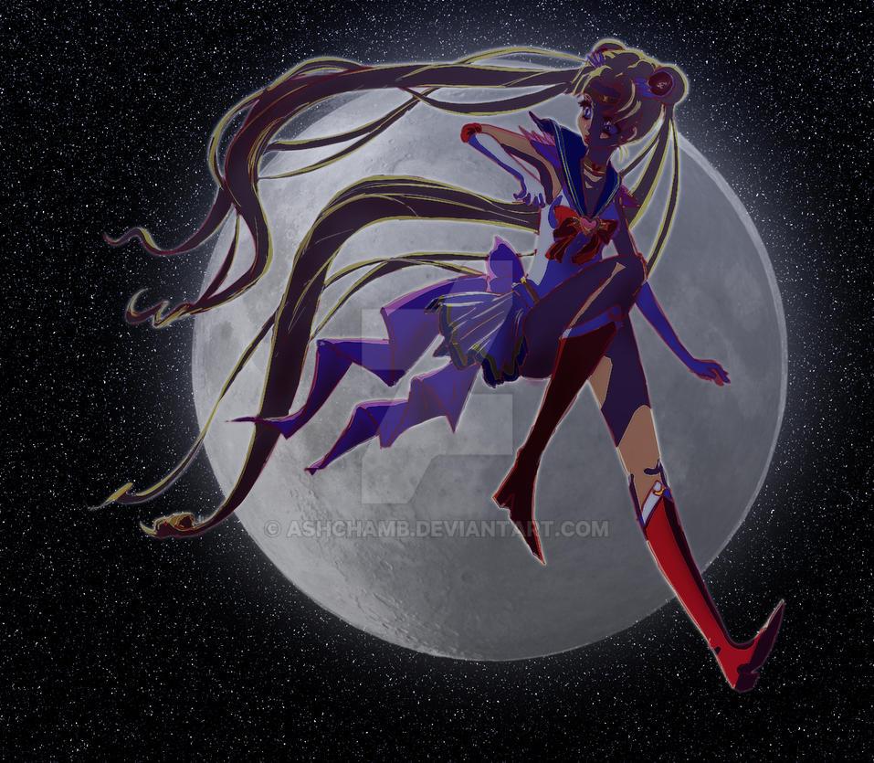 moon sailor by AshChamb