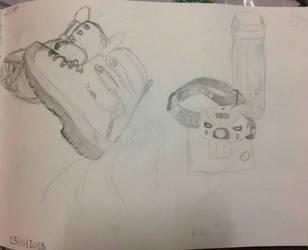 kit Still life 1 by Rosanna-Bradley