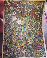 bird doodle by Rosanna-Bradley