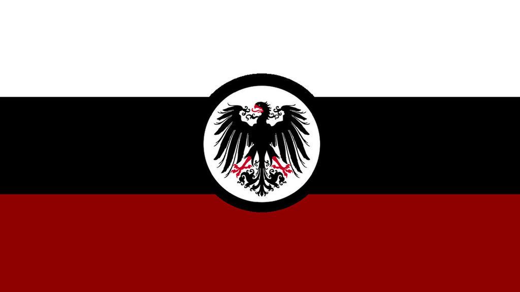 German Empire flag by KingWillhamII on DeviantArt