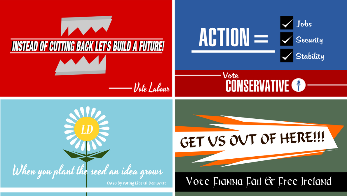 United Kingdom General Election, 2011 Posters by KingWillhamII