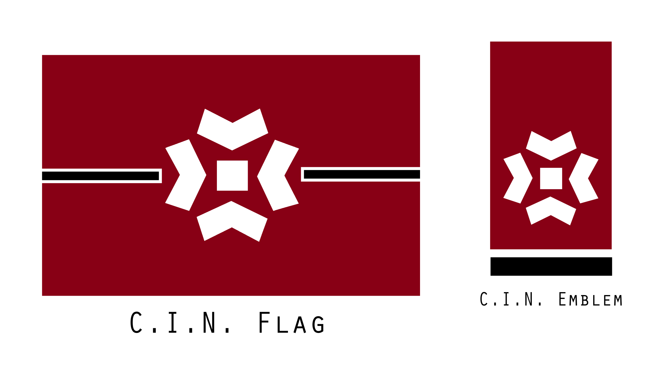 Confederacy of Independent Nations Flag and Emblem by KingWillhamII
