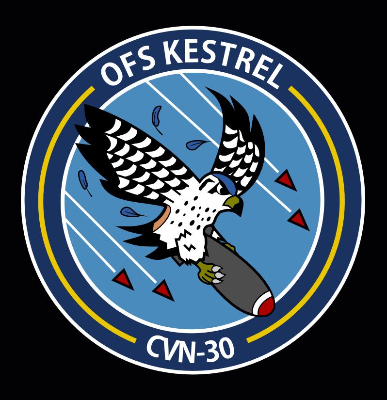 OFS Kestrel (CVN-30) Emblem by KingWillhamII