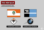 Faction Flags and Space Logos (The Non-War)
