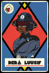 Dera Trading Card (Late War) by KingWillhamII
