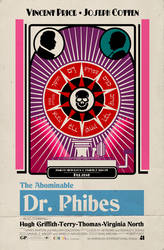The Abominable Dr. Phibes Poster by KingWillhamII