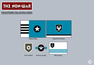 Federated Republics Flags And Military Emblems by KingWillhamII