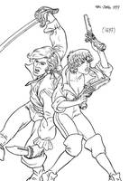 Pirate Couple by borba