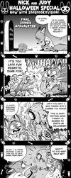 Nick And Judy Halloween Special - 02 by borba