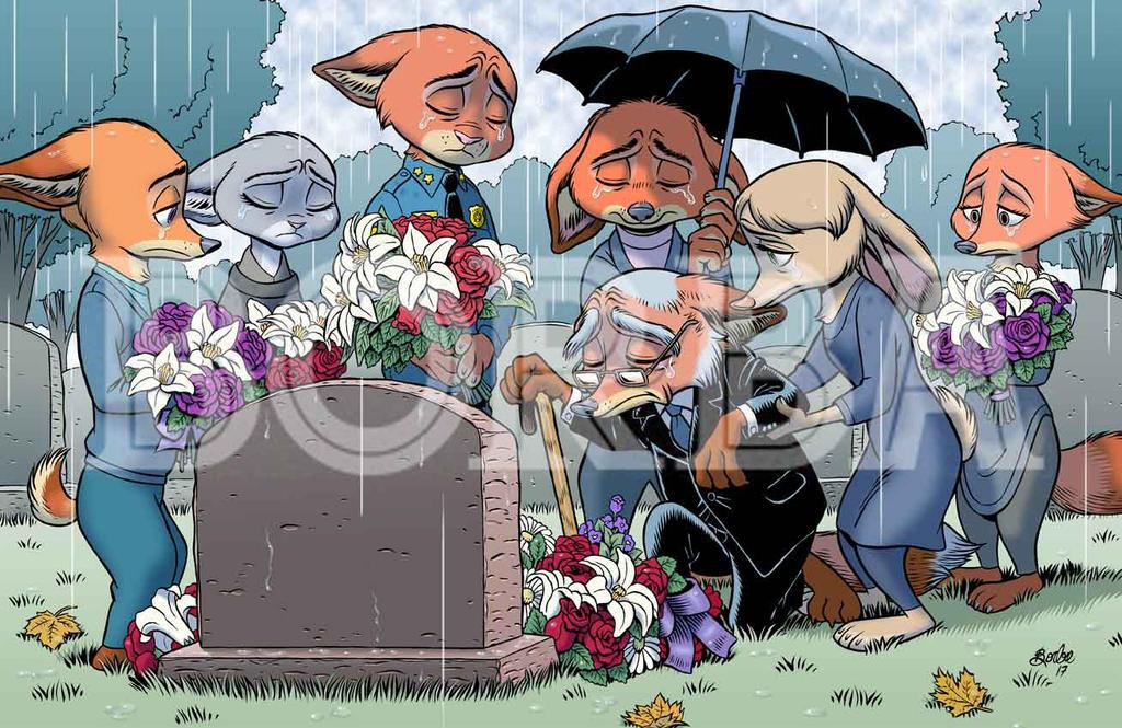 Judy's Burial by borba