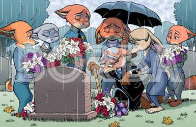Judy's Burial