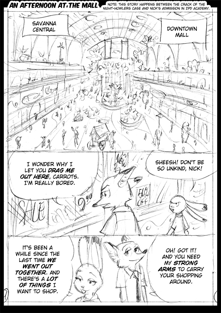 An Afternoon At The Mall - 01