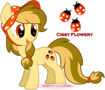 Cissy Flowery - MLP: FIM - OC 01