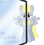 Derpy and the Mirror