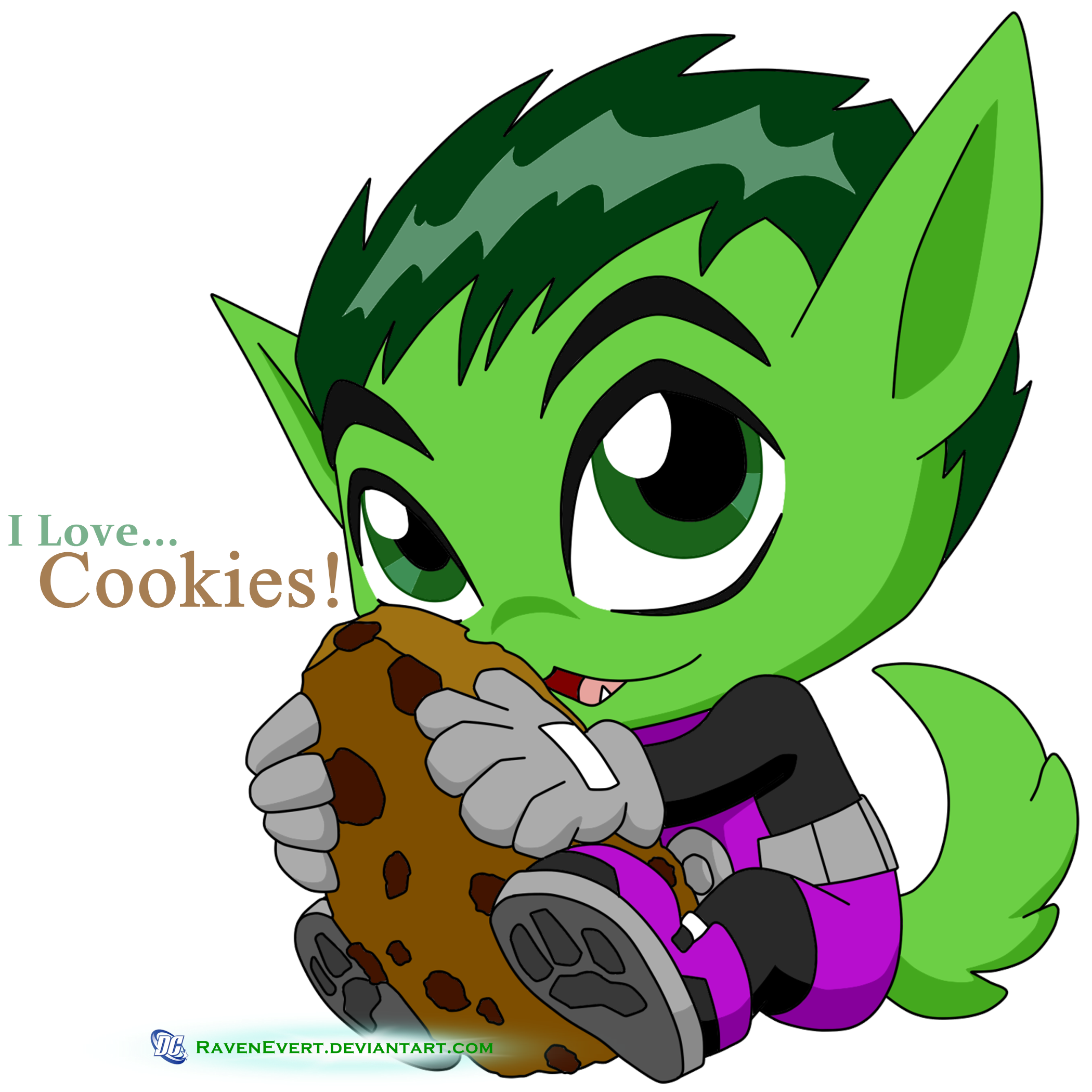 I Love Cookies! by RavenEvert