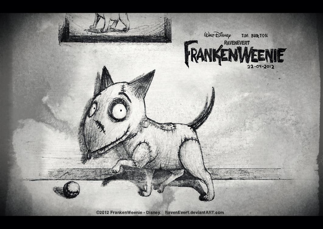 FrankenWeenie - Sparky by RavenEvert
