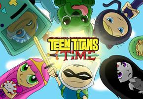 Teen Titans Time! - Wallpaper by RavenEvert