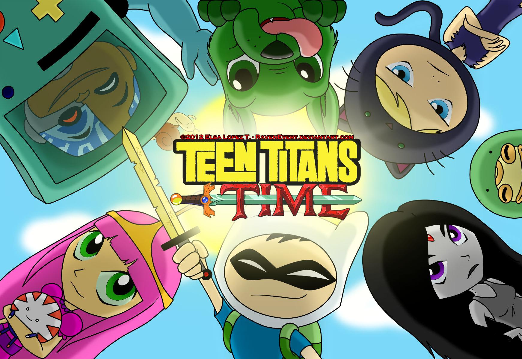 Teen Titans Time! – Wallpaper