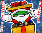 Christmas with Teen Titans