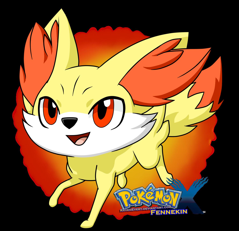 Pokemon And Y Cartoon Characters : Fennekin pokemon by ravenevert on deviantart