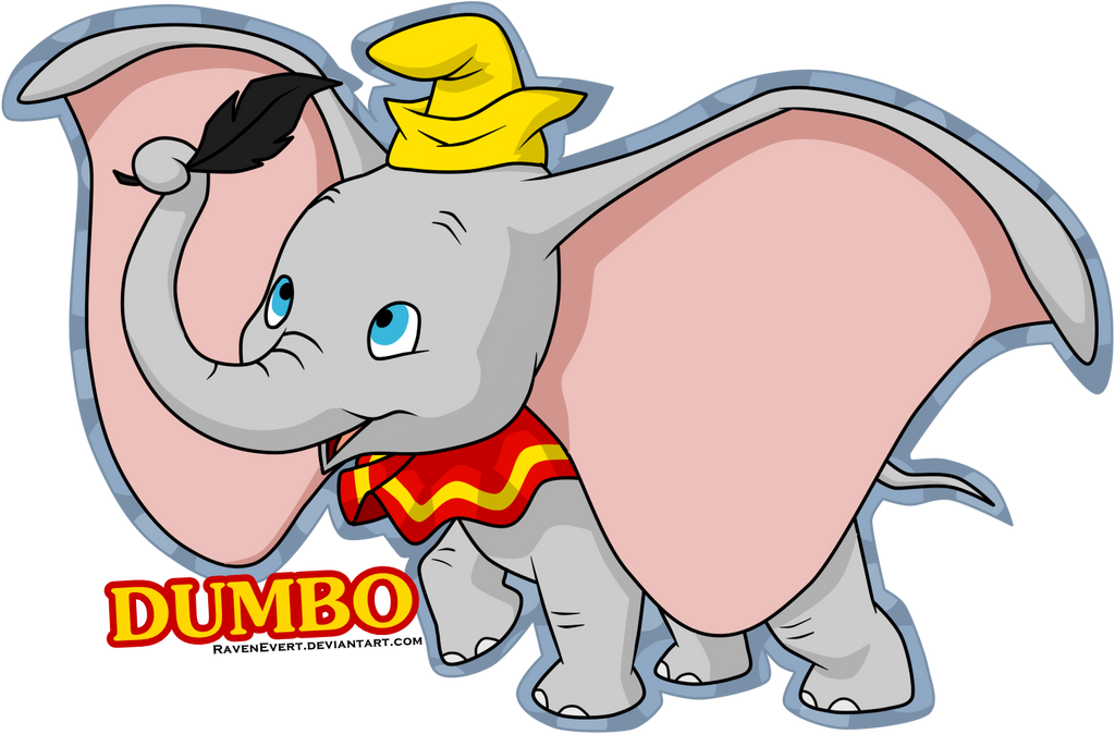 dumbo by ravenevert on deviantart Dumbo SVG Dumbo SVG