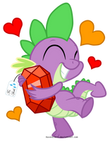 For Spike (vector) by RavenEvert