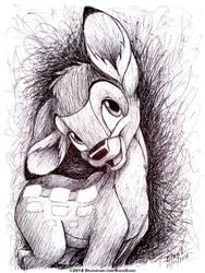 Bambi by RavenEvert