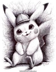 Pikachu by RavenEvert