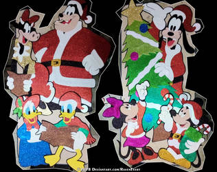 Disney Christmas by RavenEvert