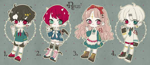 [CLOSED] Adoptable Set Price 02: Royal Party