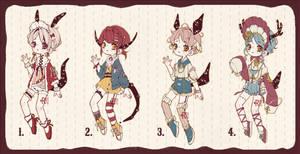 {CLOSED} Adoptable Set Price 06: Living Dolls