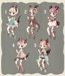 {CLOSED} Adoptable Set Price 07: Living Dolls