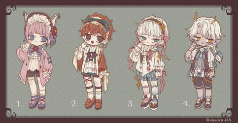 {CLOSED} Adoptable Auction - 01 by Reusoru