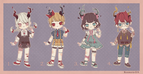 {OPEN} Adoptable Set Price 11 by Reusoru