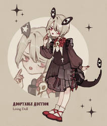 {CLOSED} Adoptable Auction: Living doll - 04 by Reusoru