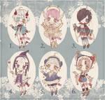 {OPEN} 2/6 Adoptable Set Price 17 by Reusoru