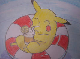 Pikachu by yhdenenkelinunelma