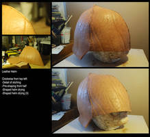 Leather Helm WIP by North-Steading
