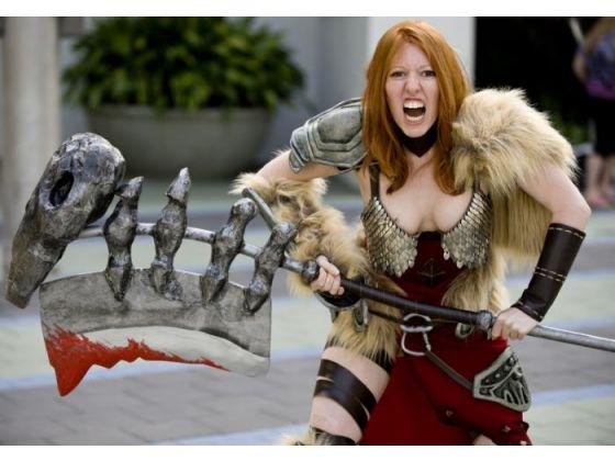 Diablo 3 Barbarian by lefthandedginger