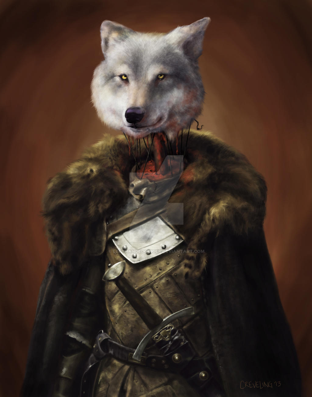 Lefthandedginger The Red King In North By