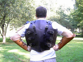 Pysco Armor back