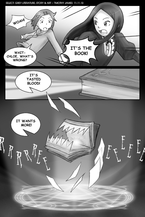 Grey Literature 23 by IndustrialComics