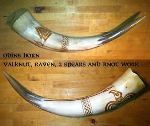 Odin Horn by nitesdarkangel